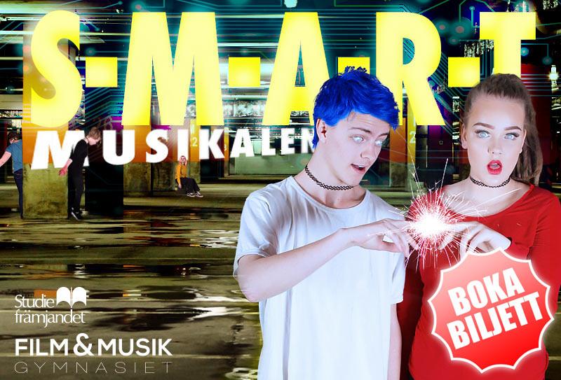 Musikalen S-M-A-R-T på Lilla Teatern 27:e maj