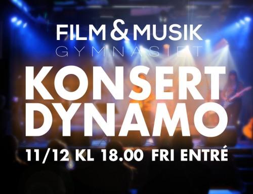 Konsert på Dynamo 11/12