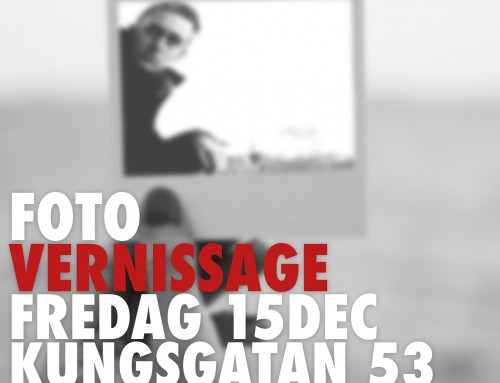 Fotovernissage 15/12 – kl18-19.30