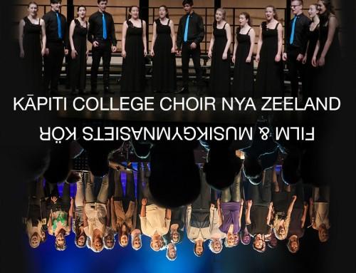 Körkonsert med Kāpiti College Choir & Film & Musikgymnasiet