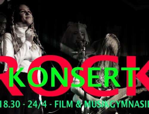 Rockkonsert 18.30 – 24/4