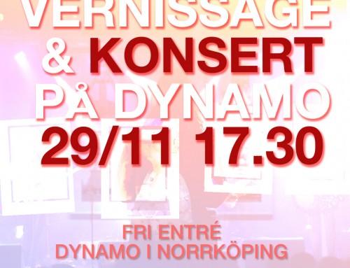Vernissage & konsert på Dynamo
