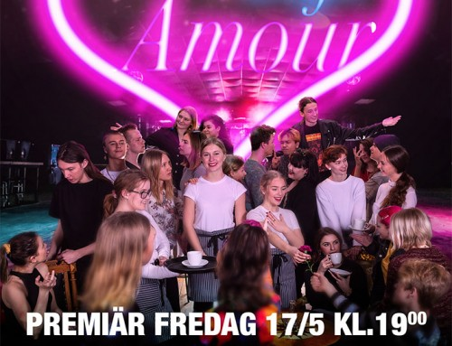 Musikalen Café Amour -boka din biljett här!