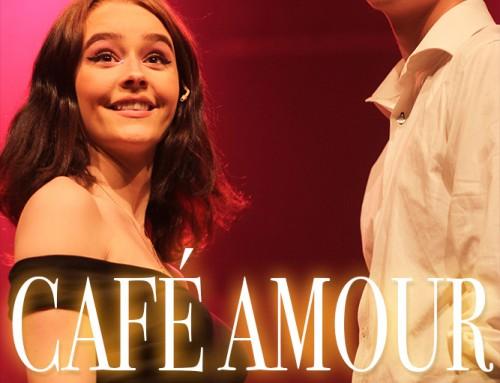 Bilder från premiären av musikalen Café Amour
