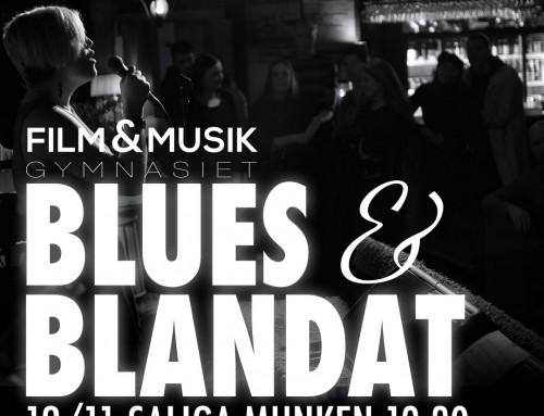 Blues & blandat på Saliga munken 12/11 19.30