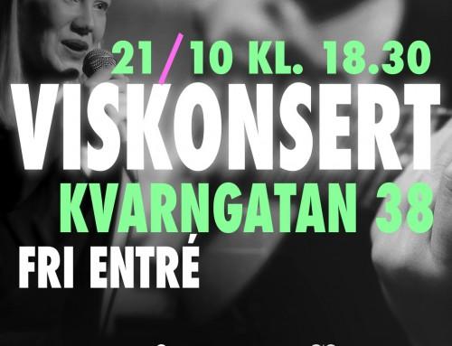 Viskonsert 21/10 18.30