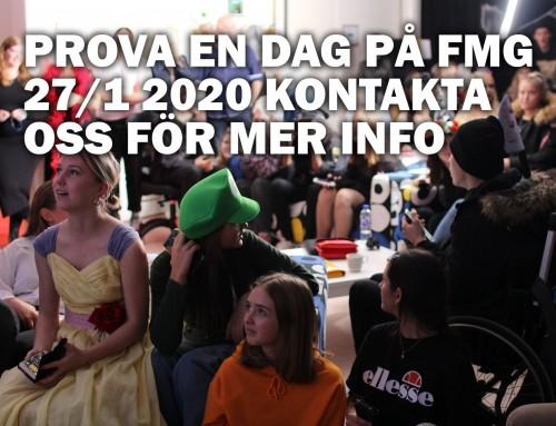 Prova på måndag 27/1 2020